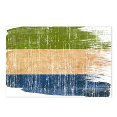 Sierra Leone Flag Postcards (Package of 8)