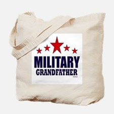 Military Grandfather Tote Bag