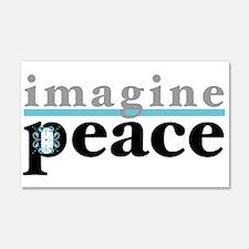 Imagine Peace 22x14 Wall Peel