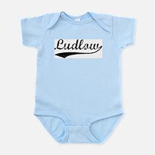 Ludlow - Vintage Infant Creeper
