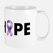 Purple Ribbon Hope Mug