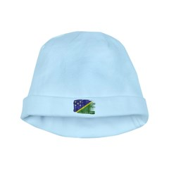 Solomon Islands Flag baby hat