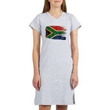 South Africa Flag Women's Nightshirt