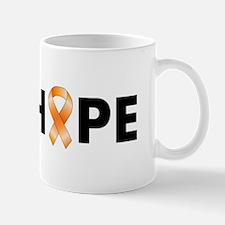 Orange Ribbon Hope Mug