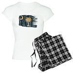South Carolina Flag Women's Light Pajamas