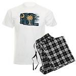 South Carolina Flag Men's Light Pajamas