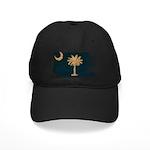 South Carolina Flag Black Cap