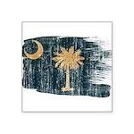 South Carolina Flag Square Sticker 3