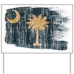 South Carolina Flag Yard Sign