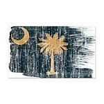 South Carolina Flag Rectangle Car Magnet
