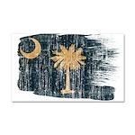 South Carolina Flag Car Magnet 20 x 12