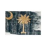 South Carolina Flag Rectangle Magnet