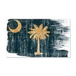 South Carolina Flag 22x14 Wall Peel