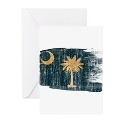 South Carolina Flag Greeting Cards (Pk of 20)
