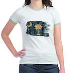 South Carolina Flag Jr. Ringer T-Shirt