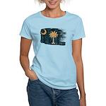 South Carolina Flag Women's Light T-Shirt