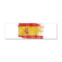Spain Flag Car Magnet 10 x 3