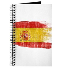 Spain Flag Journal