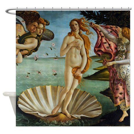 Botticelli Birth of Venus Shower Curtain