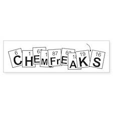 Chemfreak's Bumper Bumper Sticker