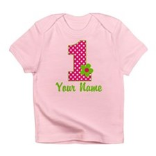 1stbdaypinkgren Infant T-Shirt