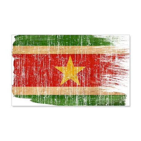 Suriname Flag 22x14 Wall Peel