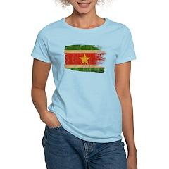 Suriname Flag Women's Light T-Shirt