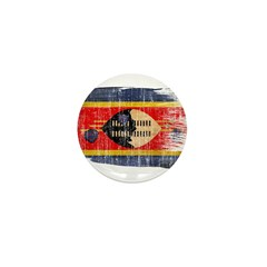 Swaziland Flag Mini Button (10 pack)