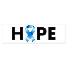 Blue Ribbon Hope Bumper Stickers