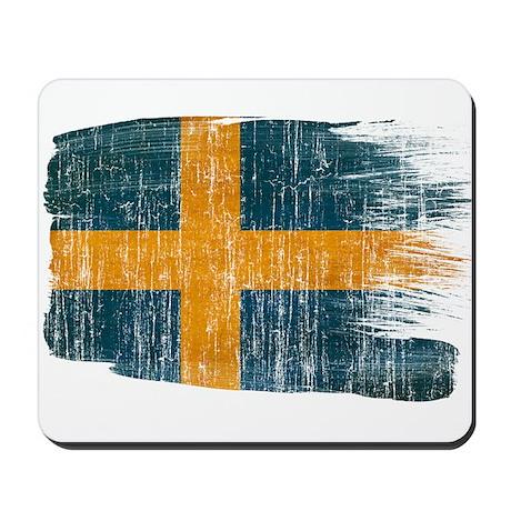 Sweden Flag Mousepad