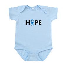 Blue Ribbon Hope Onesie