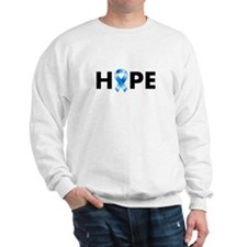 Blue Ribbon Hope Sweater