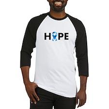 Blue Ribbon Hope Baseball Jersey
