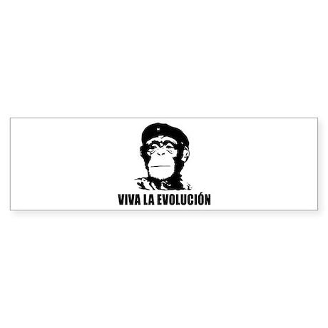 Viva La Evolucion Sticker (Bumper)
