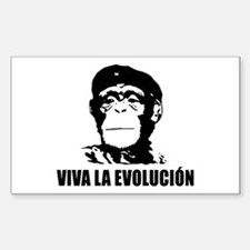 Viva La Evolucion Rectangle Bumper Decal