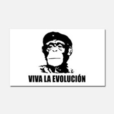 Viva La Evolucion Car Magnet 20 x 12