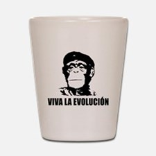 Viva La Evolucion Shot Glass