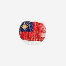 Taiwan Flag Mini Button