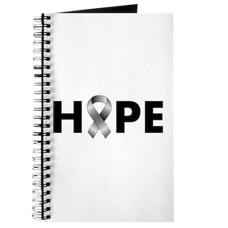 Grey Ribbon Hope Journal