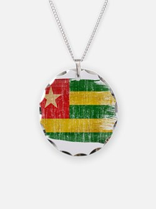 Togo Flag Necklace
