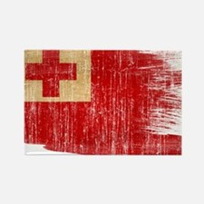 Tonga Flag Rectangle Magnet