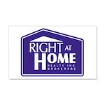 RAH Company Logo 22x14 Wall Peel