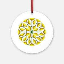 Spring Flower 246 Round Ornament