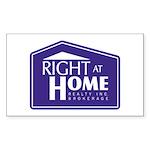 RAH Company Logo Sticker (Rectangle 10 pk)
