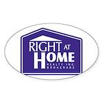 RAH Company Logo Sticker (Oval 50 pk)