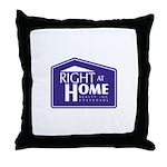 RAH Company Logo Throw Pillow