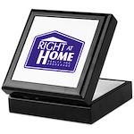 RAH Company Logo Keepsake Box