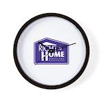 RAH Company Logo Wall Clock
