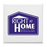 RAH Company Logo Tile Coaster