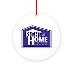RAH Company Logo Ornament (Round)
